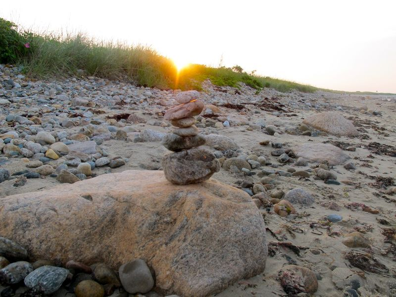 Sunset At Gooseberry Island In Westport Massachusetts Eyepictured