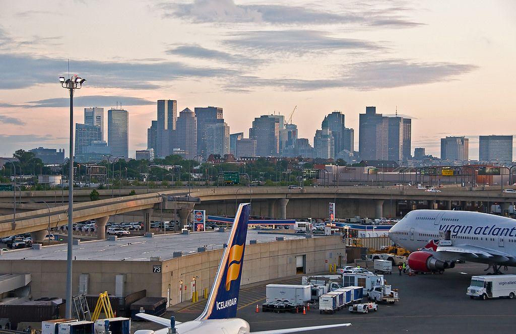 Logan Airport Boston Massachusetts Boston massachusetts