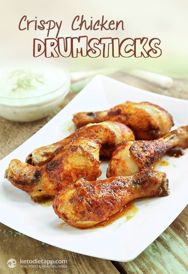 Crispy Low Carb Chicken Drumsticks Recipe With Images