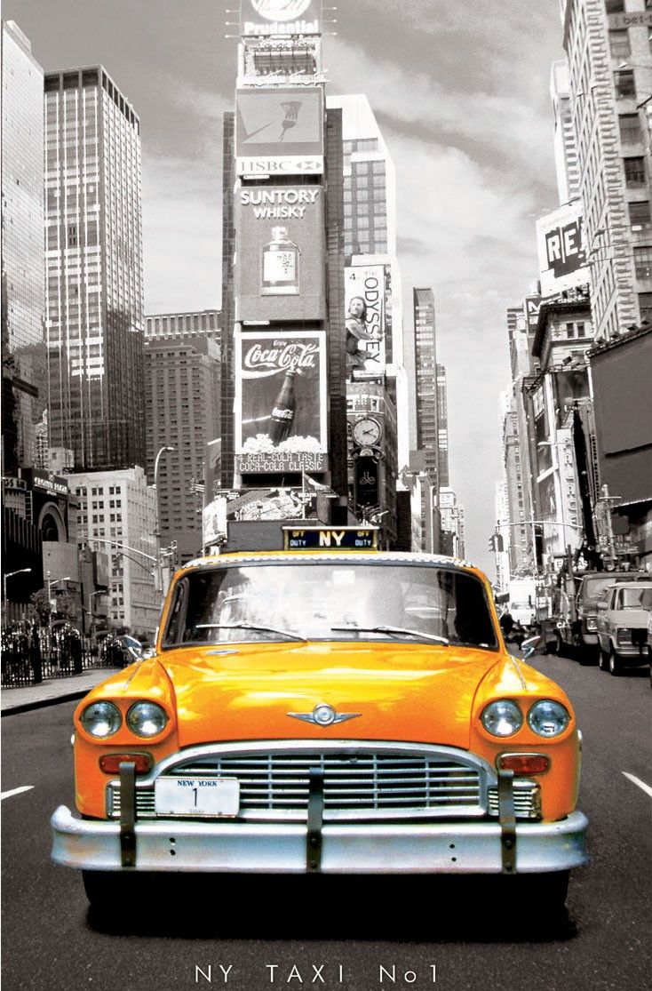 puzzle taxi jaune new york puzzles voitures new york on simply wall street id=60285