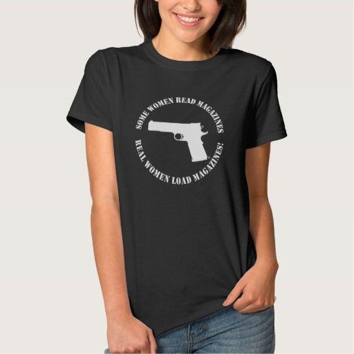 Real Women Load Magazines T Shirt, Hoodie Sweatshirt