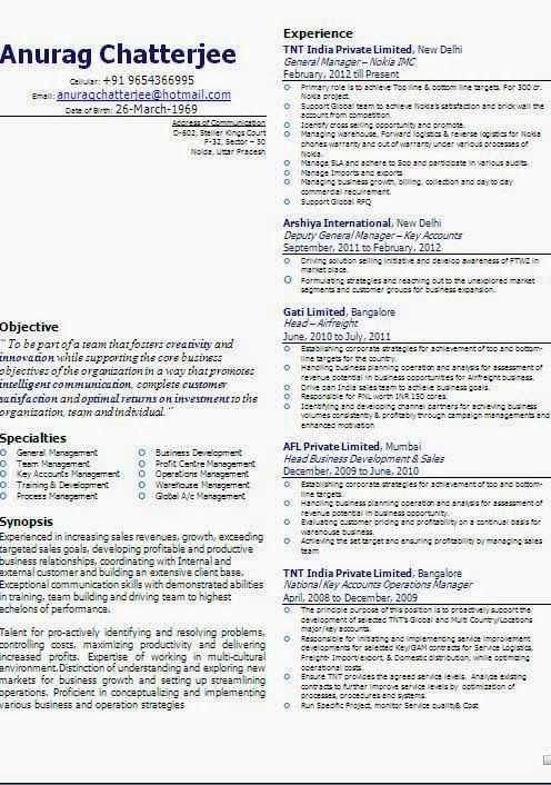 best resume template download Sample Template Example of Excellent ...