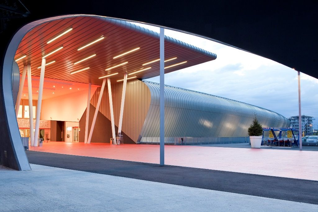 Shopping center, Turin, Italien Arkitekt: Studio Rolla Architettura + Urbanistica