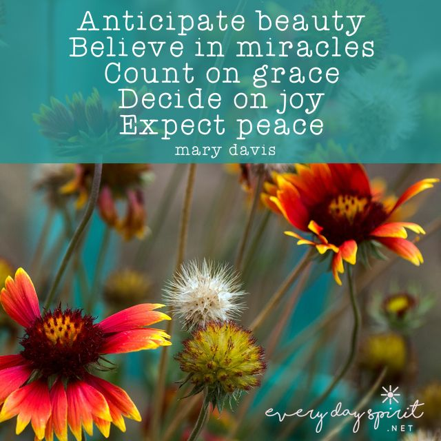 Beautiful Day For Miracle >> Anticipate A Beautiful Day Ahead Affirm That You Are A Miracle And