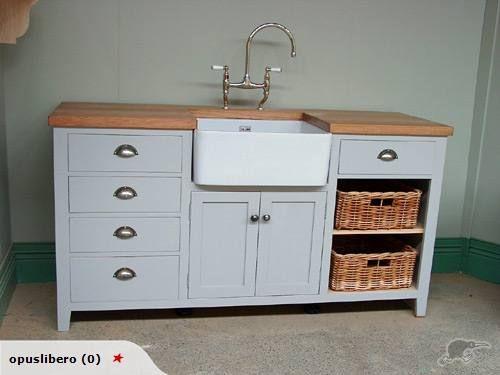 Opus Libero Freestanding Kitchen Sink Furniture Freestanding Kitchen Kitchen Sink Remodel Unfitted Kitchen