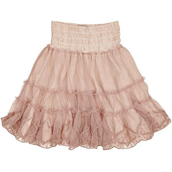 Noa Noa miniature nederdel (€67) ❤ liked on Polyvore featuring skirts, bottoms, mini skirt, pink skirt, noa noa and pink mini skirt