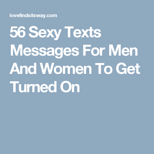 Sexy messages to send to a guy
