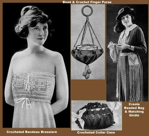 Heminway #18 c.1920 - Vintage Pattern Book of Crochet Fashions (PDF ...