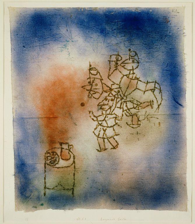 superfreakbaba grundoonmgnx Paul Klee German born Switzerland