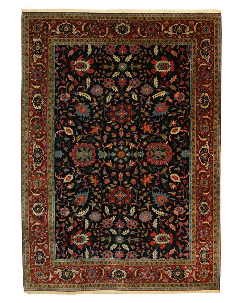 9'11 X 13'9 Traditional Hand Knotted Rug