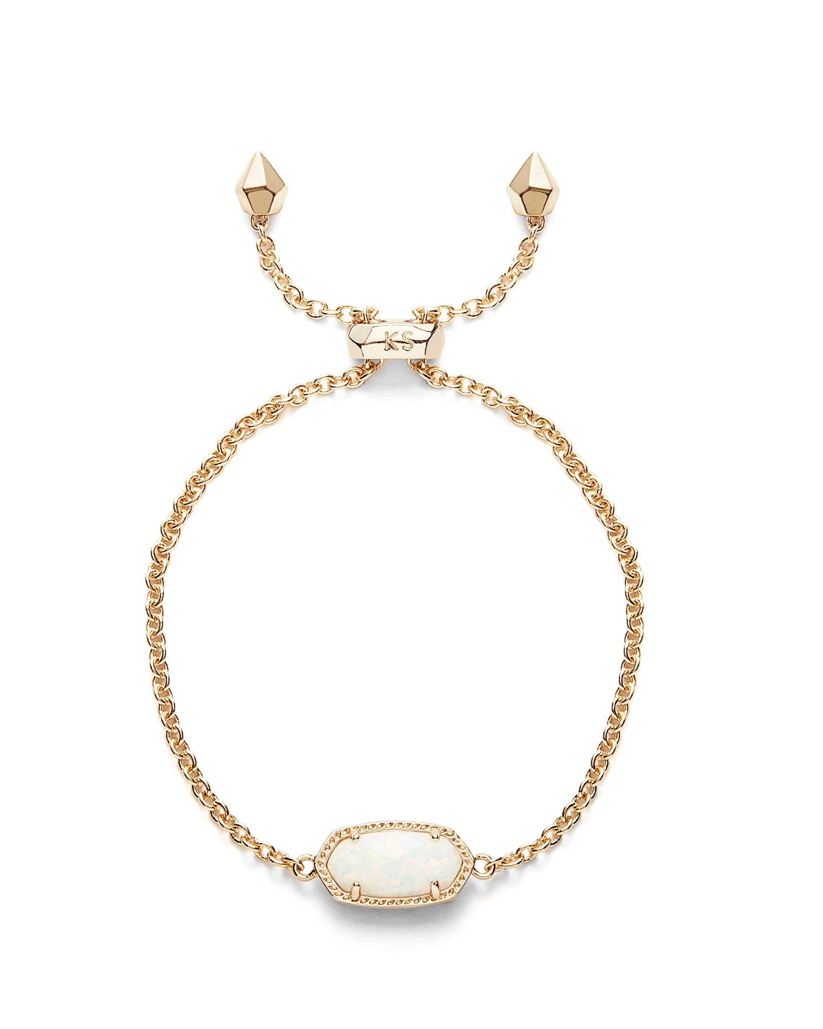 Kendra Scott Elaina Statement Bracelet in Rose Gold Plate YYEKoJ9