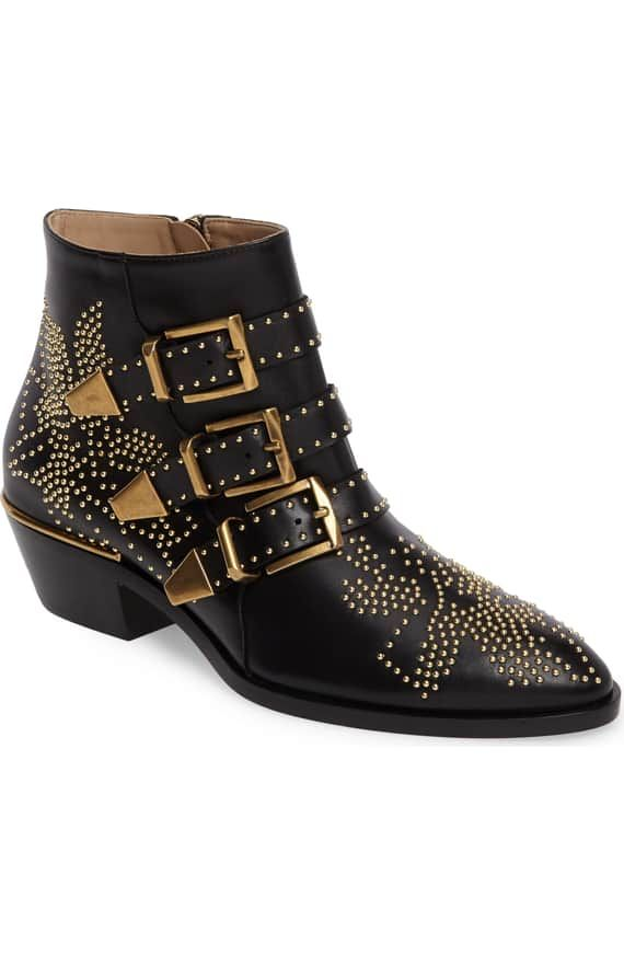Chloe Studded Boots