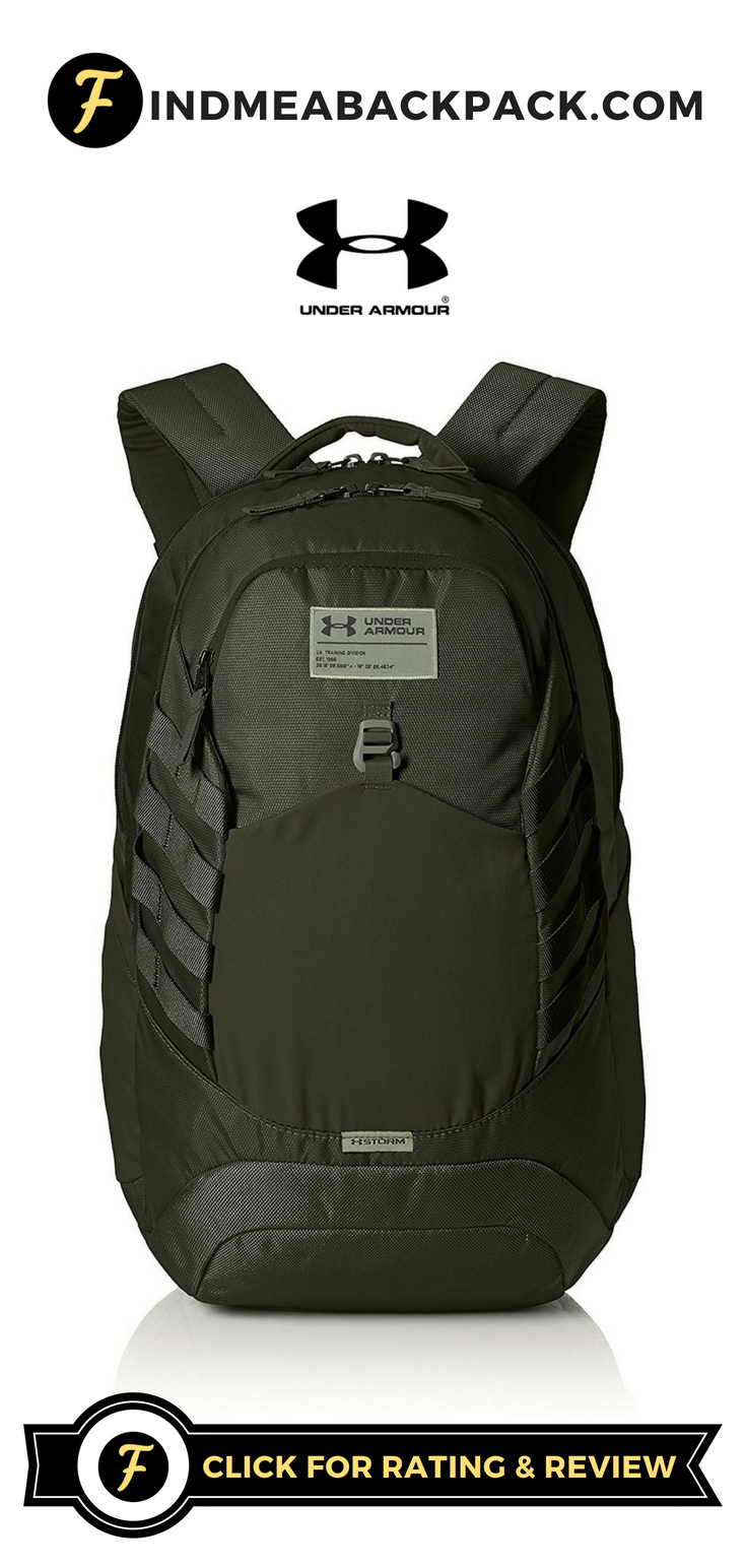 Montón de Cerdito motivo  NEW! | Under Armour Hudson Backpack Review | Find Me A Backpack |  Backpacks, Under armour backpack, Backpack reviews