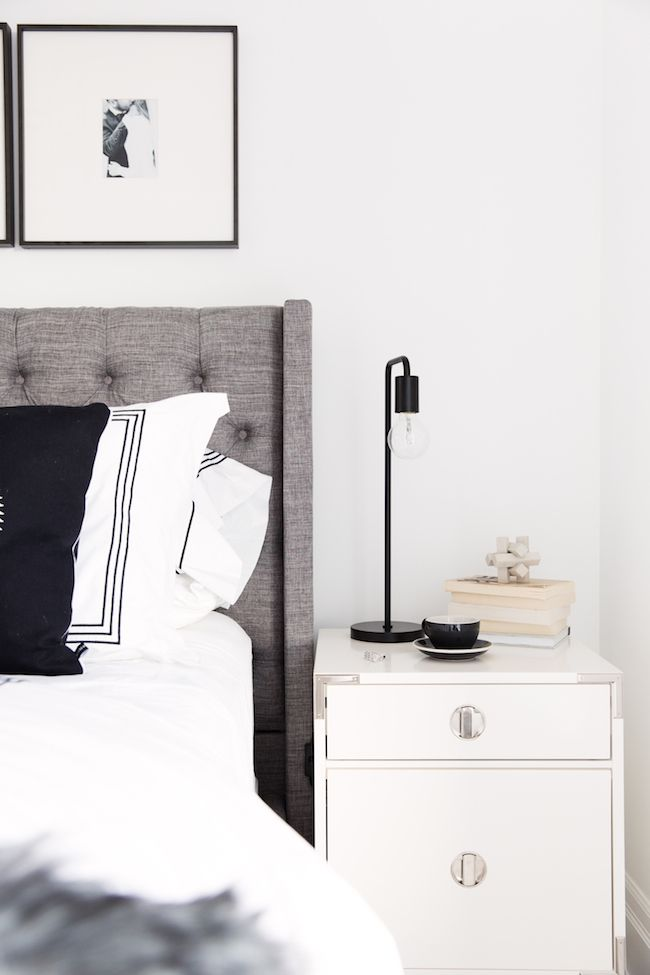 cozy modern bedroom