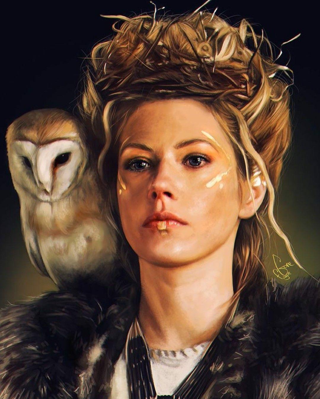 Gut gemocht Lagertha | Viking | Pinterest | Femme dessin, Visuelle et Dessin TW43