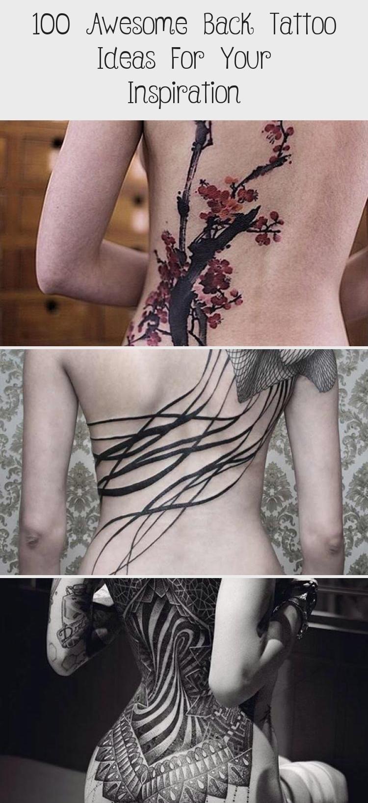 Photo of Rückentattoo für den Menschen – 100 Awesome Back Tattoo Ideas #armtattoosformenAnimal #arm …