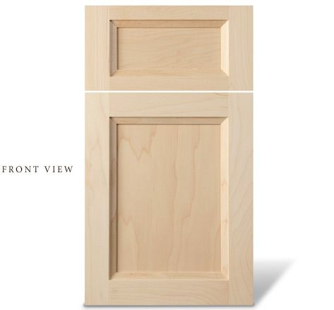 Shaker Cabinet Door With Bevel For The Home Kitchen