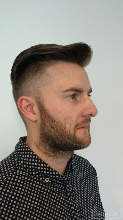 Men Undercut Quiff Hairstyle Undercut Hairstyles In London On