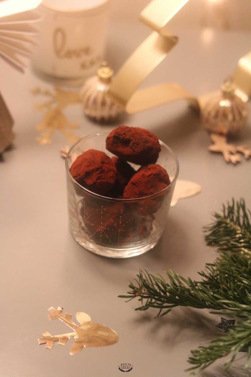 Truffes au chocolat - Recette de Cyril Lignac #truffesauchocolat