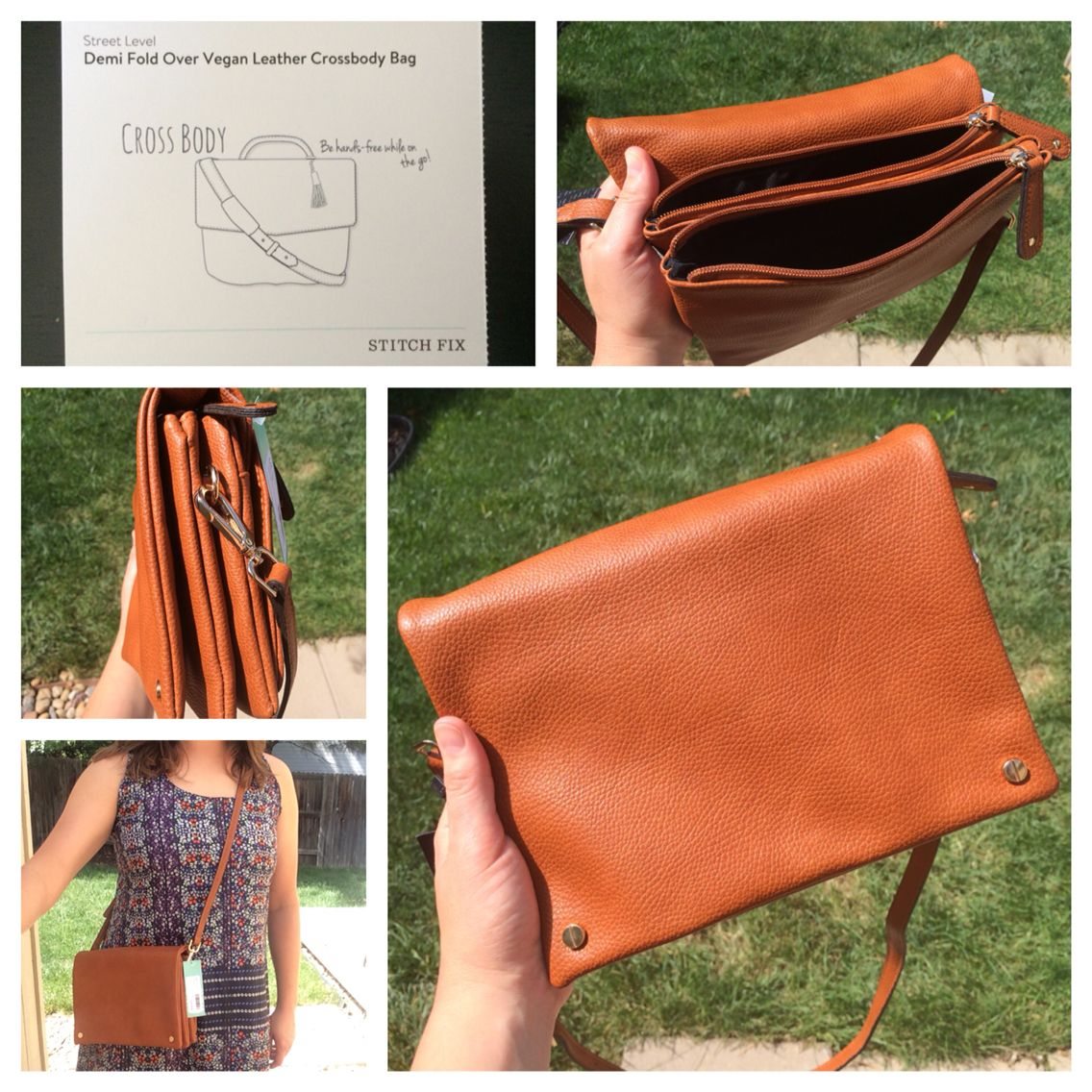 Stitch Fix 5 Alright Box Street Level Demi Fold Over Vegan Leather Crossbody Bag 48 A Crossbody Bag Is Totally My Stitch Fix Bags Foldover Crossbody Bag