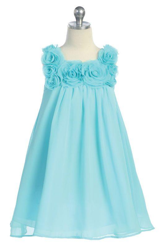 215efb79ce vestido celeste