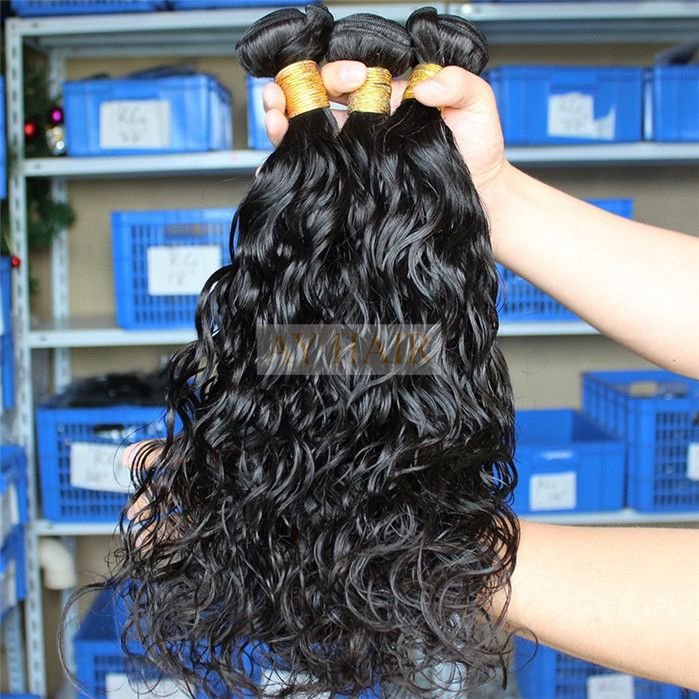 Peruvian Weaving Virgin Remy Soft Unprocessed No Shedding Wet And