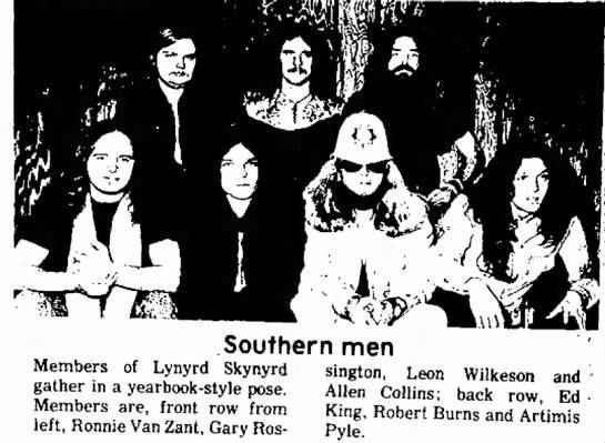 pin by jim l on lynyrd skynyrd 1970s in 2018 pinterest lynyrd Detroit Rock Bands 1970 allen collins lynyrd skynyrd lineup 1970s bands range band
