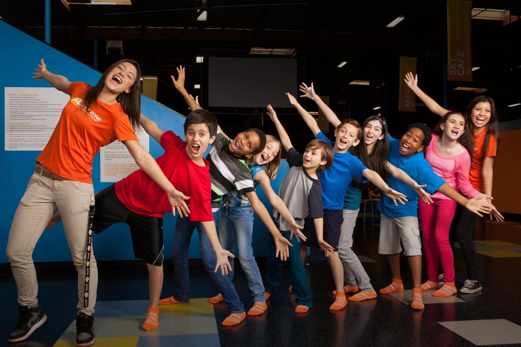 Jump over to Sky Zone this Sunday for our BACK TO SCHOOL