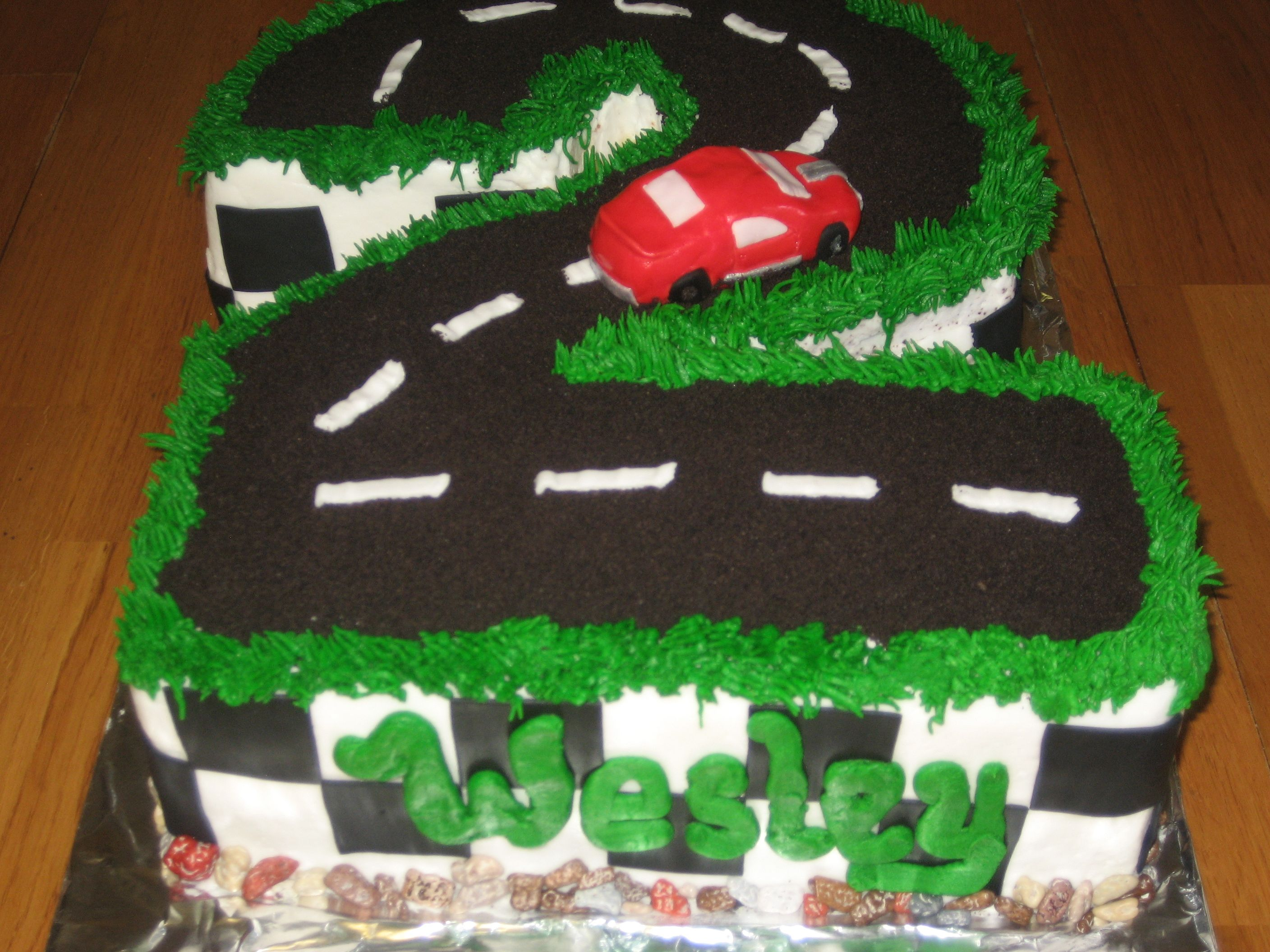 2 Year Old S Car Cake Car Cakes Pinterest Cake 2 Year Olds