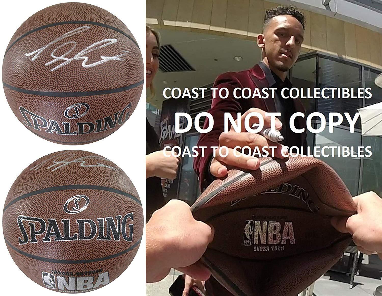 Landry Shamet: Landry Shamet, Los Angeles Clippers, signed, autographed, basketball, COA with proof.  ...