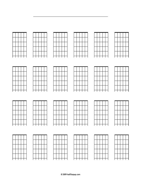 HsuChordBlank  Music    Guitar Chords And Guitars