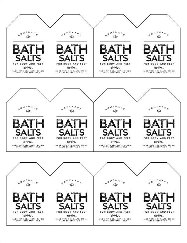 Free Download Friday Week 3 Lavender Mint Scented Bath
