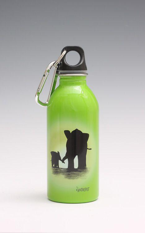Οικολογικό ανοξείδωτο παγουράκι Earthlust (elephant)