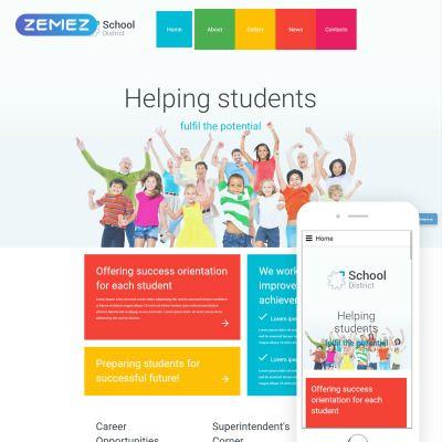 Похожее изображение | Joomla templates, Online education ...