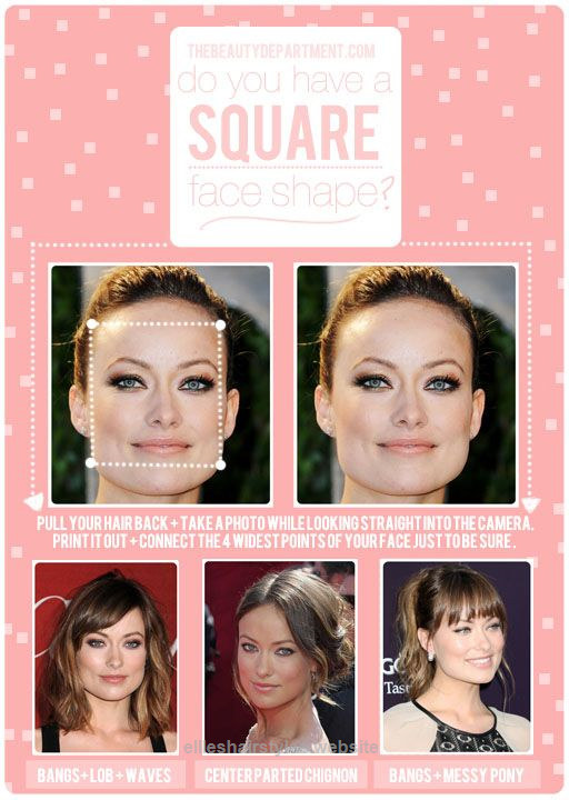 Square Face Top Knot If You Want To Wear A Top Knot Either Just Go For It And Elle Hairstyles Square Face Hairstyles Haircut For Square Face Square Face Shape