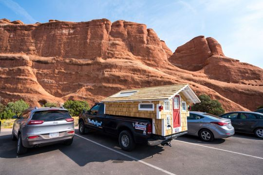 Ford Flophouse Arches National Park Utah