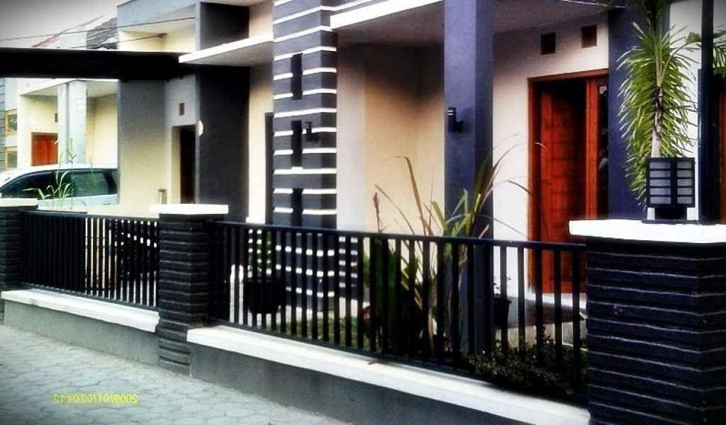 Pagar Tinggi 1meter Minimalis Model Pagar Rumah | Rumah Minimalis, Minimalis,  Rumah