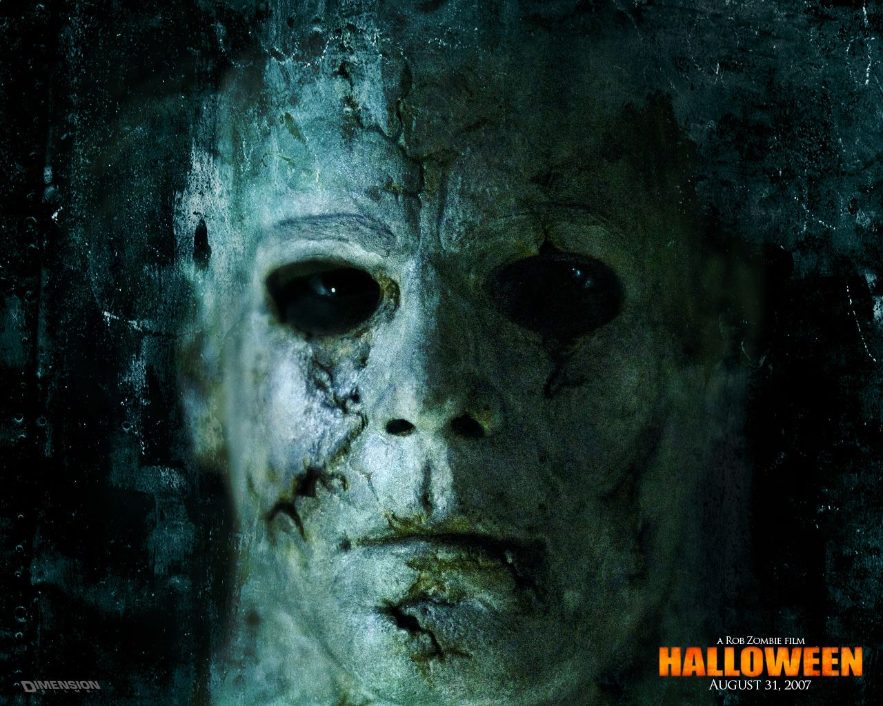 the rob zombie halloween movie michael myers wall clock - Halloween Movie By Rob Zombie