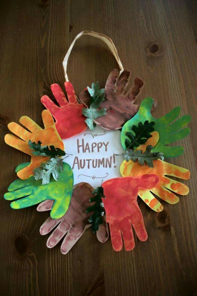 Autumn Wreath Craft For The Kids It S Fall Y All Fall