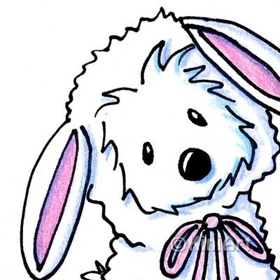 KiniArt Westie Terrier lamb in a rare .99 cent auction!     © 2012 KiniArt - All Rights Reserved.    www.KiniArt.com