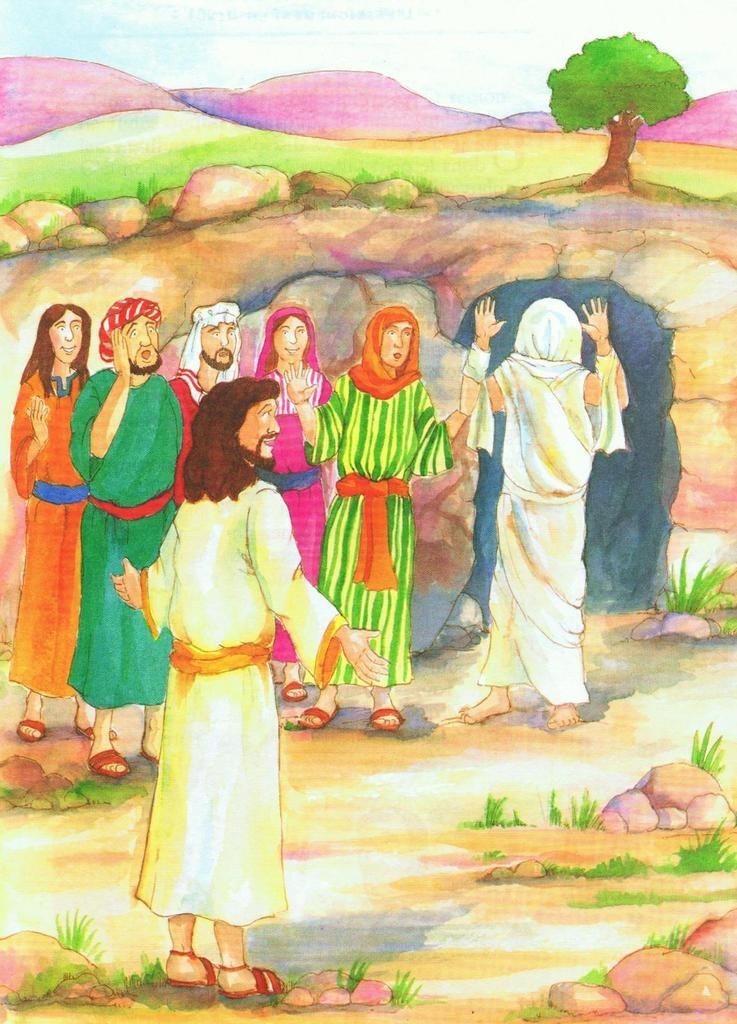 La résurrection de Lazare - narration - 2 articles - Le Blog de Jackie