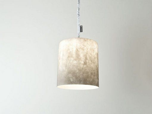 BIN polyester hanglamp cilinder transparant - creatmosphereshop