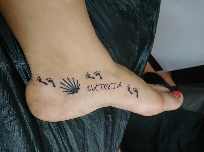 Pin De Mery Rey En Tatuajes Tatuajes Tatoo Camino De Santiago