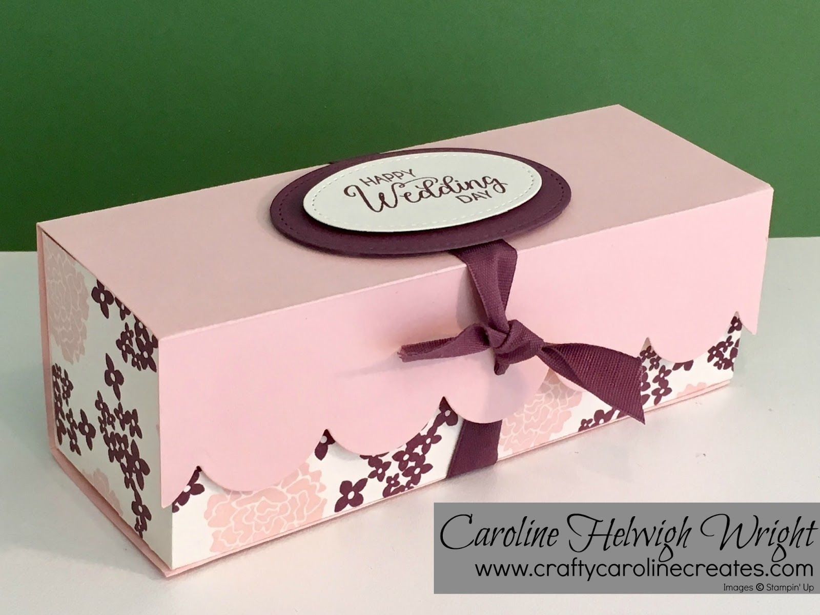 Large Elegant Gift Box with Beautiful Bouquet - Video Tutorial with ...