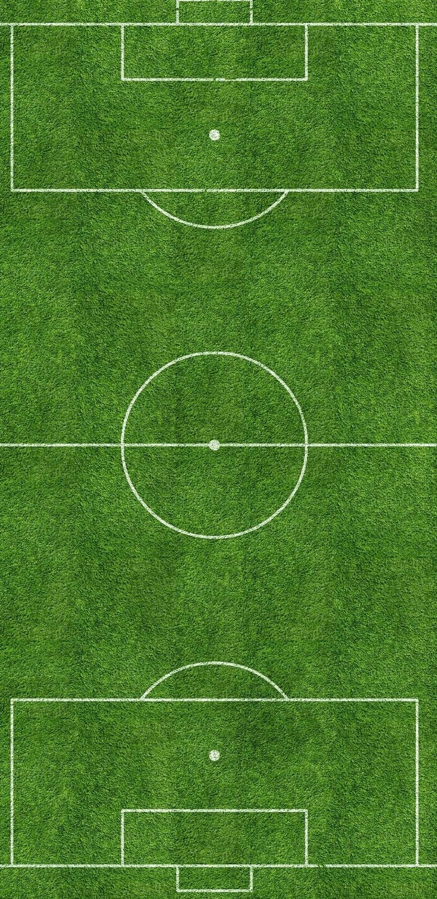 Gambar Dan Ukuran Lapangan Sepak Bola Beserta