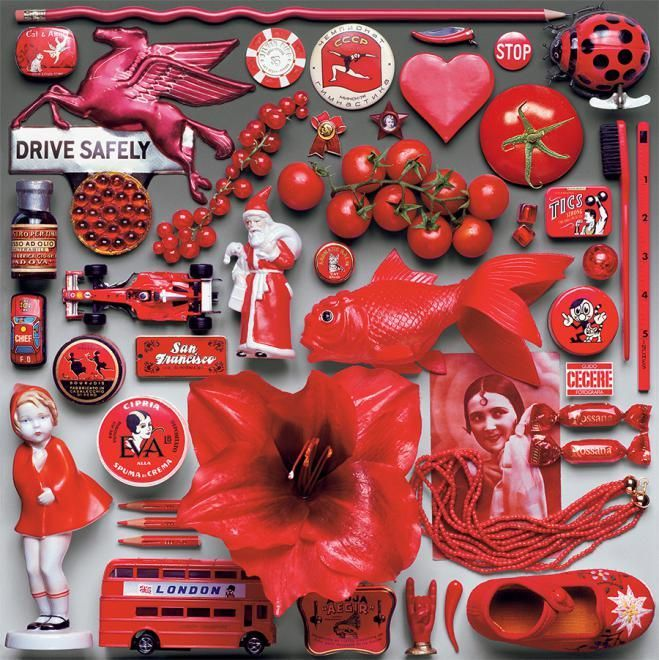 Color Study - Red - 550 Piece Puzzle | Red Aesthetic | Red