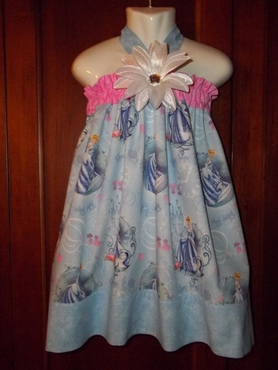 Princess dress Disney Cinderella Birthday Party Bow by GinaBellas1, $39.50