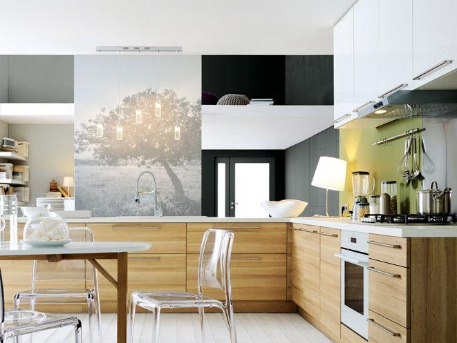 Kitchen Cupboards Cuisine Bois Decoration Interieure Cuisine Cuisine Bois Moderne