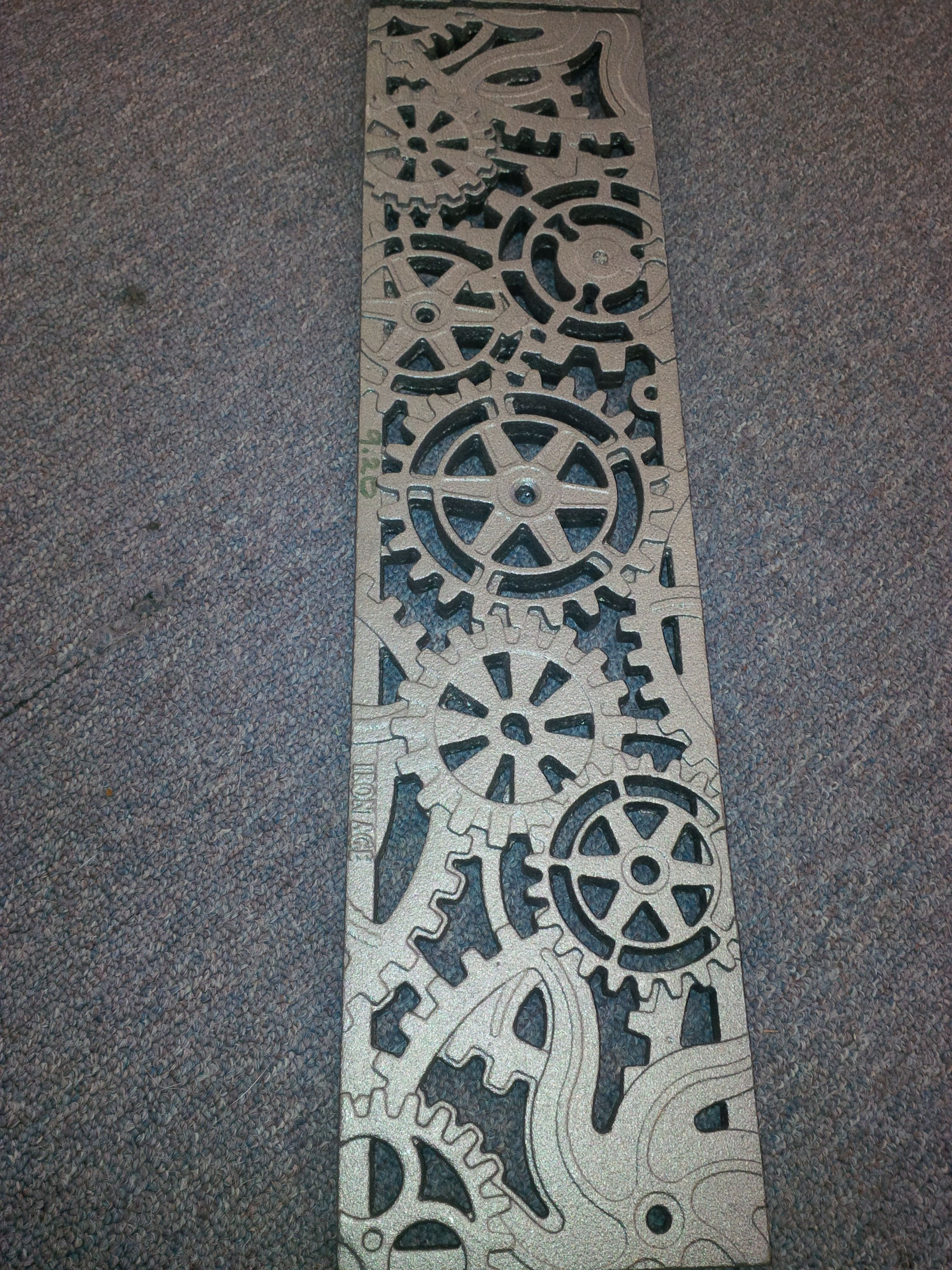 Iron Age Designs Dynamo Trench Drain Perfect For Our