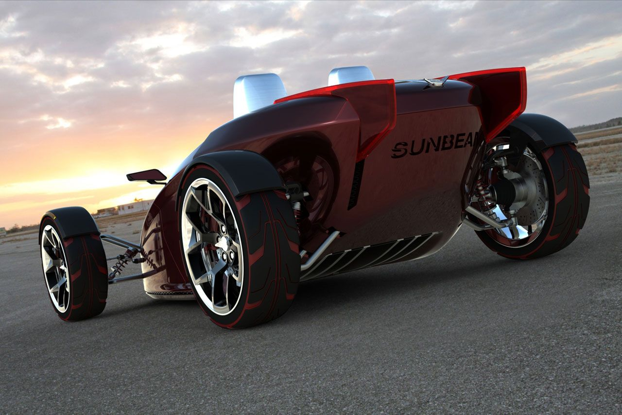 Sunbeam Tiger Concept Electric car concept, Concept cars